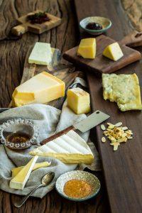 Foto de Cardápio, Prato de queijos